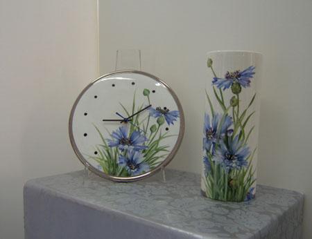 l'esclusivo paola gallinatto ceramiche porcellane pittura su ... - Pittura Su Piastrelle Di Ceramica